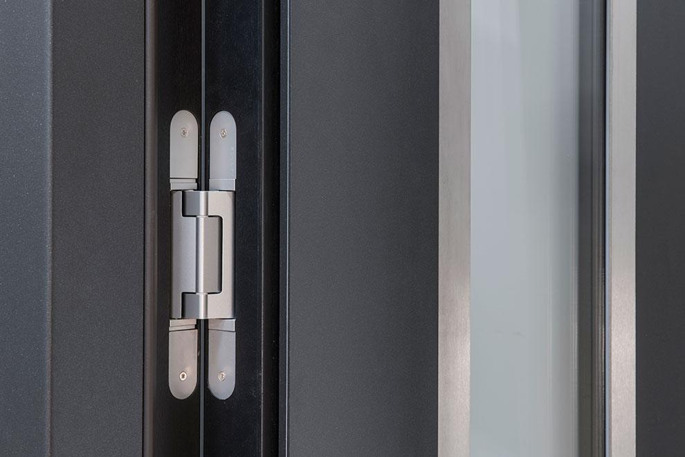 Aluminum Clad Concealed Hinge