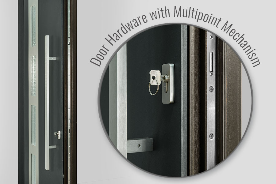 Aluminum Clad Door Multipoint-Lock