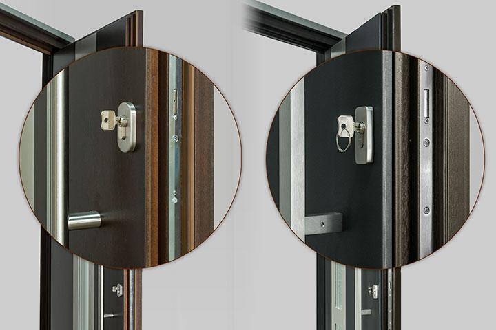 Multipoint Mechanism Entry Door Harware Locks 6