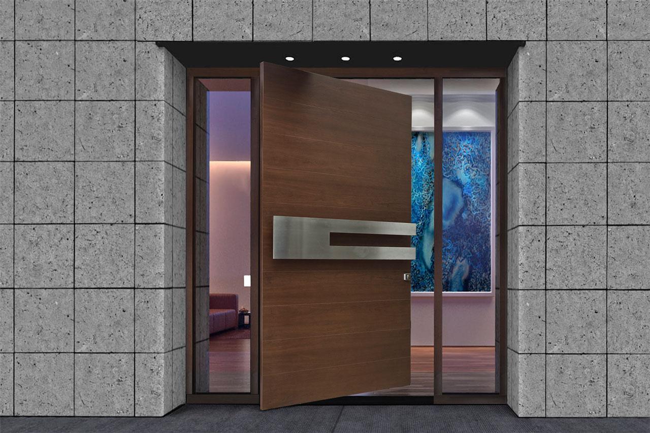Pivot Front Doors 1