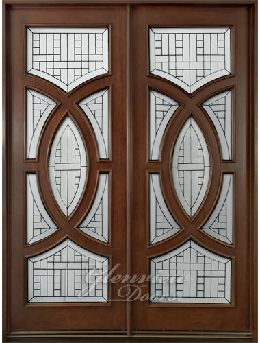 Solid Front Entry Wood Doors