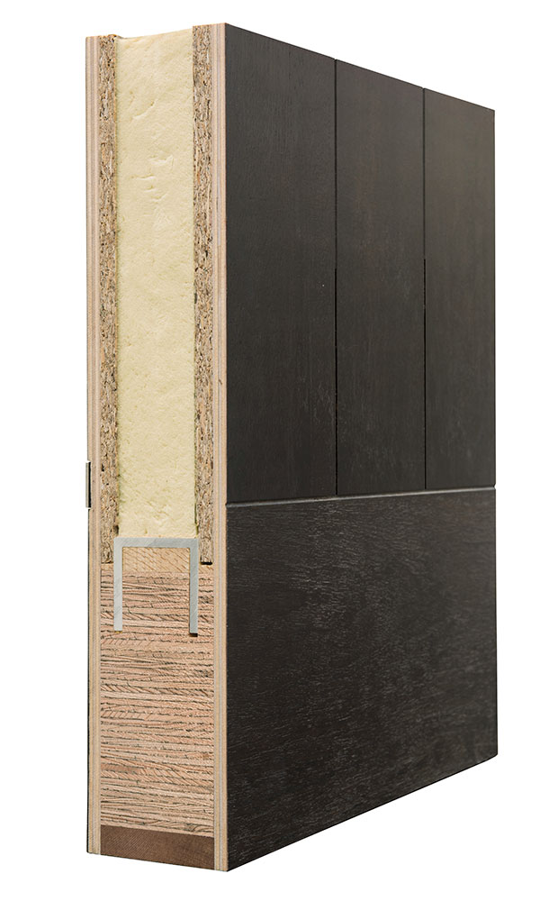 Euro Modern Collection Door Structure Corner Sample