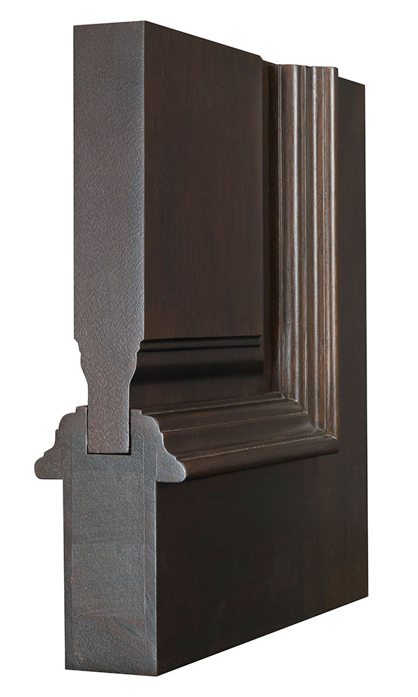 Front Door Custom Double Solid Wood With American Walnut Finish Classic Model Db M A81 Gp