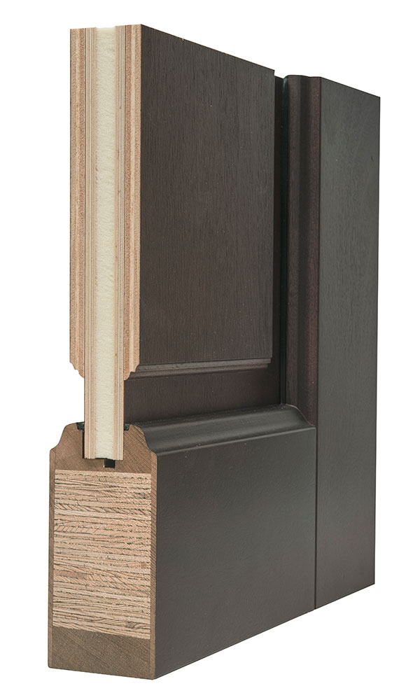 Entry door in stock single solid euro technology for Solid wood panel doors