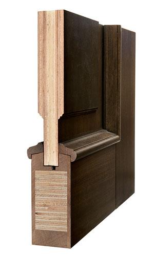 Door Structure Corner