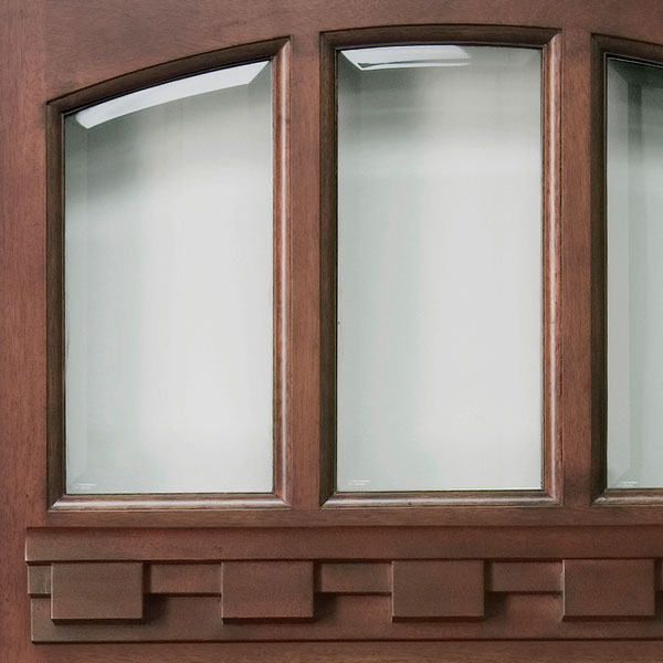 BEVELED TRANSPARENT GLASS & SOLID WOOD ENTRY DOORS Exterior Wood Doors Front Doors Exterior ... Pezcame.Com