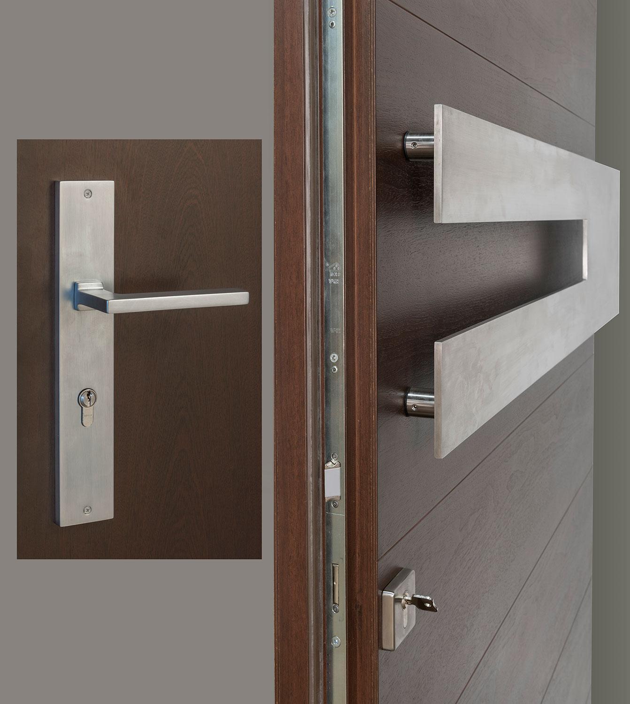 HDWR-EURO-SET-HORIZONTAL-W-SINTESI - Door Hardware