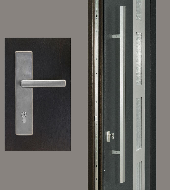 HDWR-EURO-SET-RECTANGULAR-48-DALLAS Door Hardware