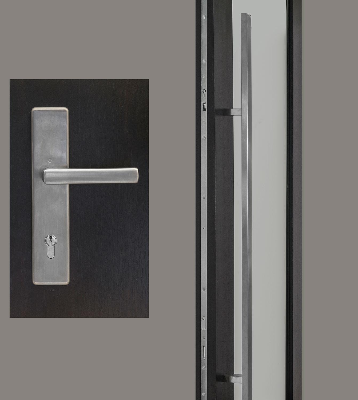 HDWR-EURO-SET-RECTANGULAR-67-DALLAS Door Hardware