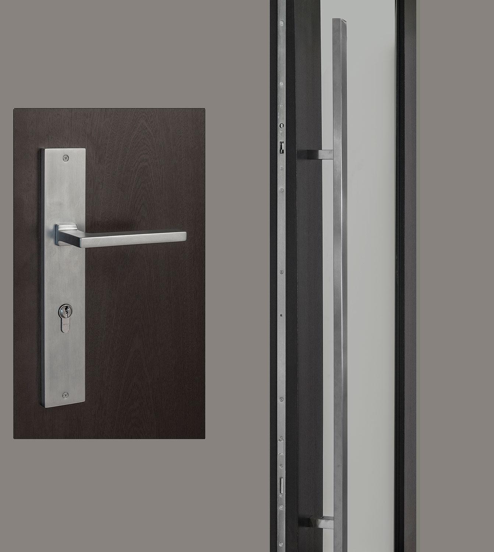 HDWR-EURO-SET-RECTANGULAR-71-SINTESI - Door Hardware