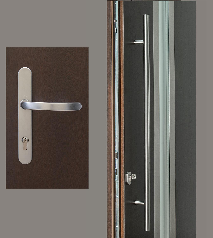 HDWR-EURO-SET-ROUND-48-LUXEMBURG Door Hardware
