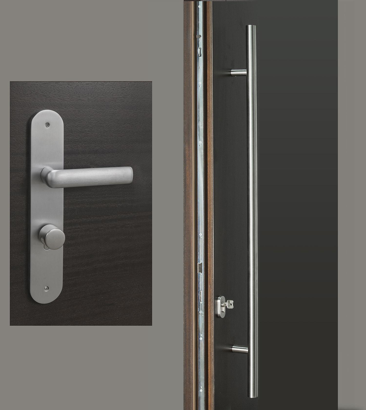 HDWR-EURO-SET-ROUND-48-STRIP - Door Hardware