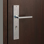 HDWR-EURO-SET-RECTANGULAR-48-SINTESI Door Hardware