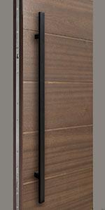 HDWR-EURO-SET-ROUND-48-STRIP-Black Door Hardware