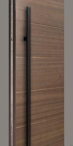 HDWR-EURO-SET-ROUND-71-STRIP-Black Door Hardware