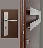 Horizontal-T-Sintesi Set Door Hardware