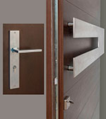 Horizontal-W-Sintesi Set Door Hardware