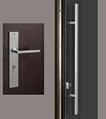 Rectangular-Sintesi Set Door Hardware