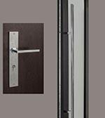 Rectangular-Sintesi Set Door Hardware