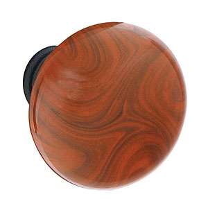 Madison Brown Swirl Knob Steel Option