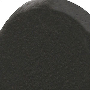 Flat Black Steel Finish Option