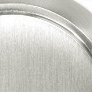 Satin Nickel Finish Option