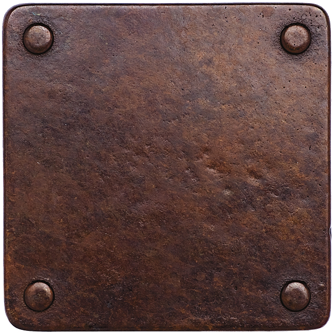 Silicon Bronze Rust Finish Option