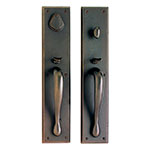 Rectangular Entry Set Door Hardware