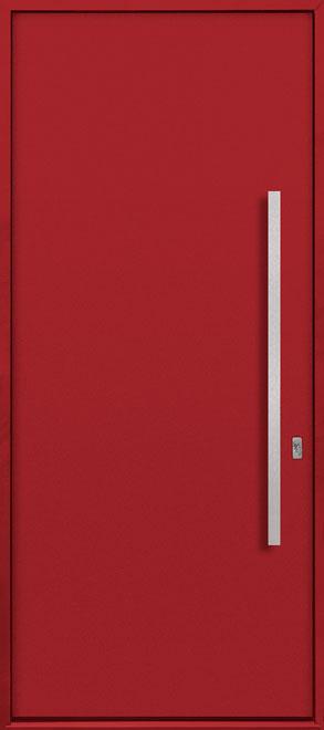 Aluminum Exterior Aluminum Clad Wood Front Door - Single - DB-ALU-A1 CST