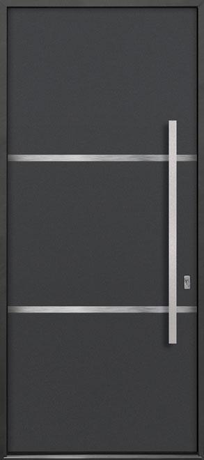 Aluminum Exterior Aluminum Clad Wood Front Door - Single - DB-ALU-B4 CST