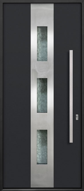 Aluminum Exterior Aluminum Clad Wood Front Door - Single - DB-ALU-C2 CST
