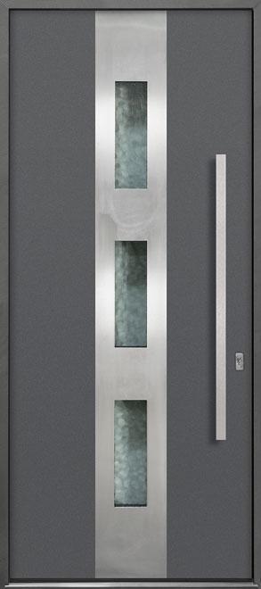 Aluminum Exterior Aluminum Clad Wood Front Door  - GD-ALU-C2 CST