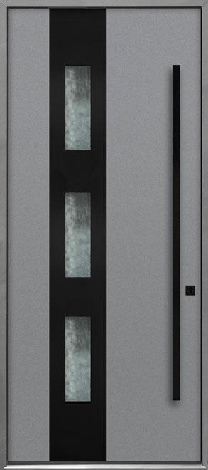 Aluminum Exterior Aluminum Clad Wood Front Door - Single - DB-ALU-C3B CST