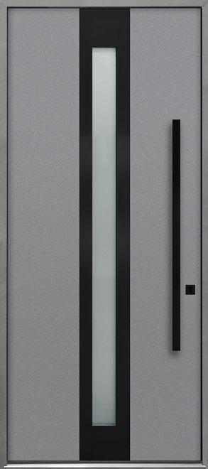 Aluminum Exterior Aluminum Clad Wood Front Door - Single - DB-ALU-D4B CST