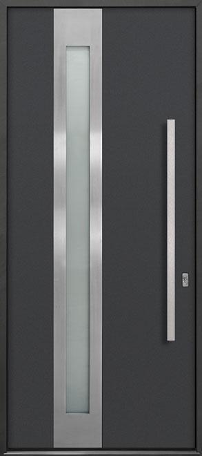 Aluminum Exterior Aluminum Clad Wood Front Door - Single - DB-ALU-D5 CST