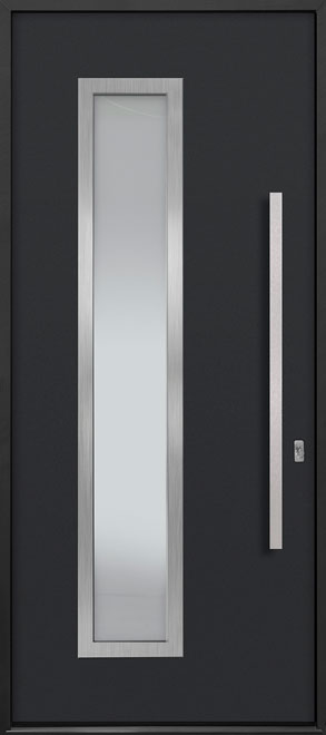 Aluminum Exterior Aluminum Clad Wood Front Door - Single - DB-ALU-E5 CST