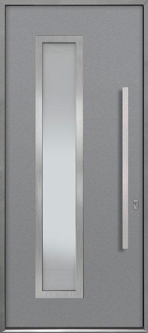 Aluminum Exterior Aluminum Clad Wood Front Door - Single - DB-ALU-E5 CST
