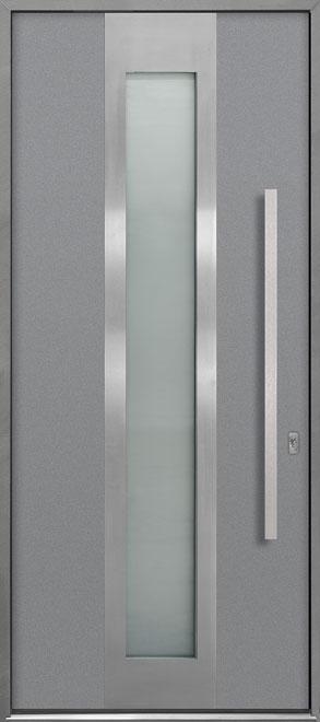Aluminum Exterior Aluminum Clad Wood Front Door - Single - DB-ALU-F4 CST