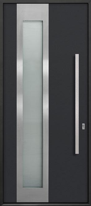 Aluminum Exterior Aluminum Clad Wood Front Door - Single - DB-ALU-F5 CST