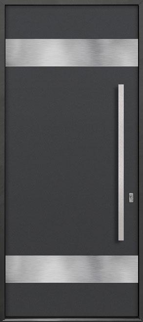Aluminum Exterior Aluminum Clad Wood Front Door - Single - DB-ALU-M1 CST