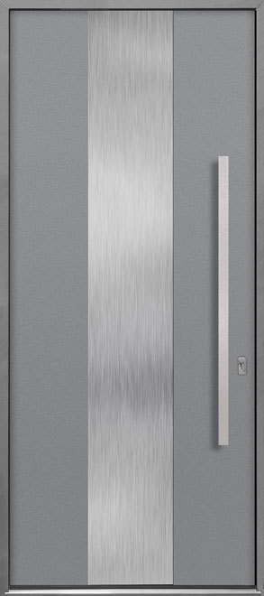 Aluminum Exterior Aluminum Clad Wood Front Door - Single - DB-ALU-M2 CST