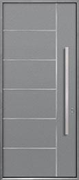 Aluminum Exterior Aluminum Clad Wood Front Door  - GD-ALU-B1 CST