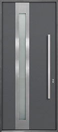 Custom Aluminum   Door Example, -