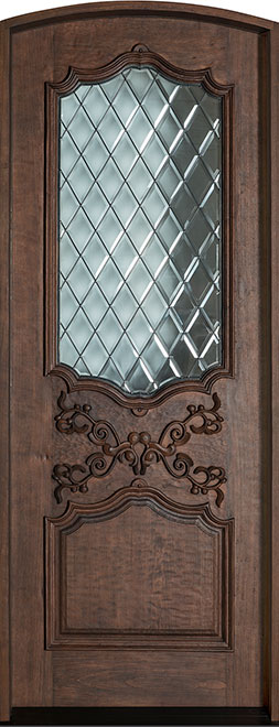 Heritage SpanishCedar Wood Front Door - Single - DB-H000DG F CST