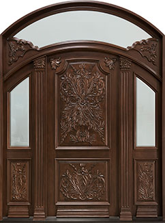 DB-H009 2SL F TR CST Door