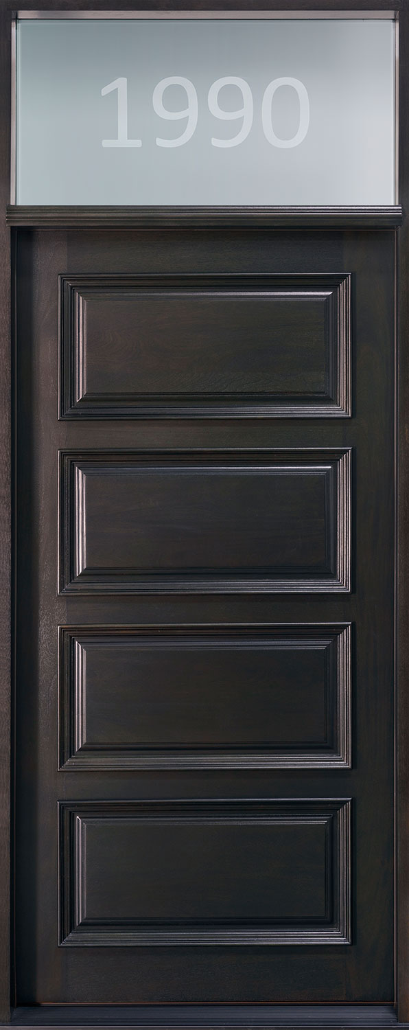 Wood Front Door - Single
