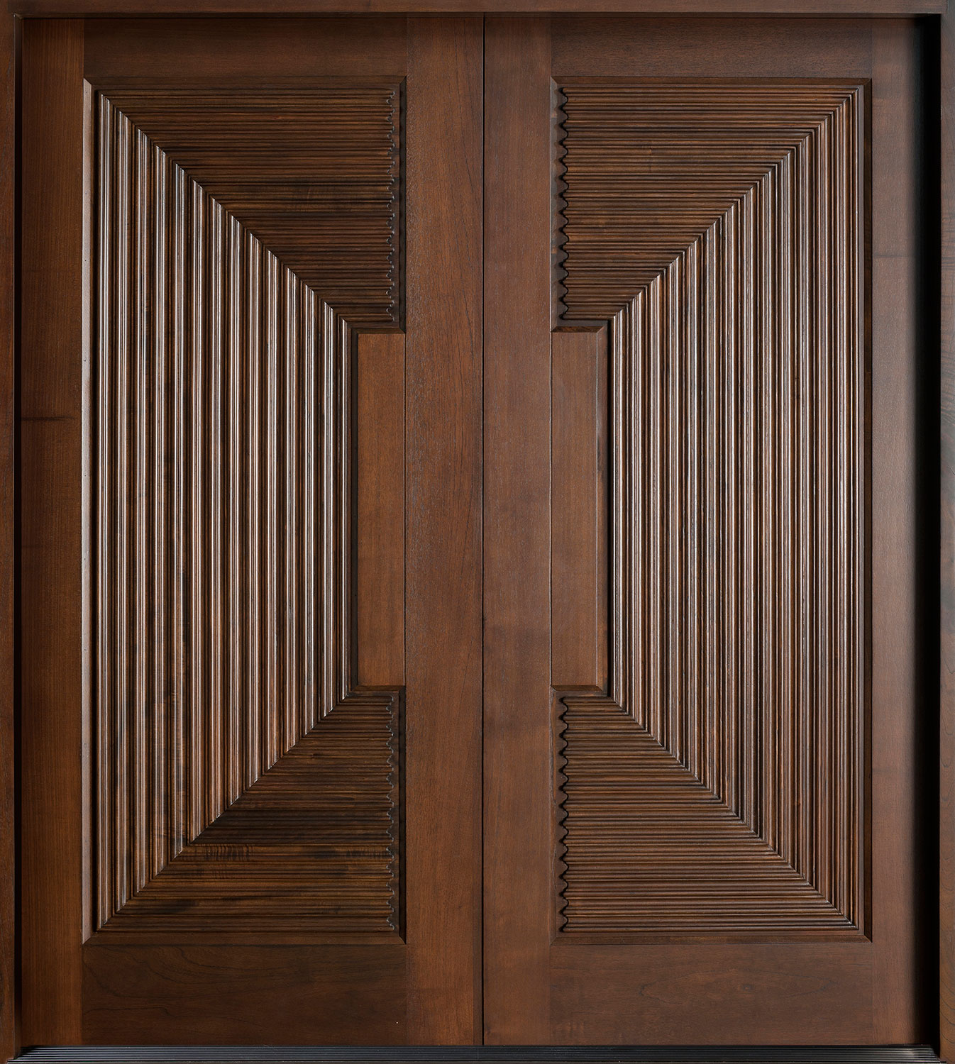 Wood Front Door - Double