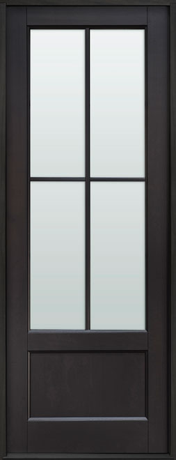 Classic Mahogany Wood Front Door - Single - DB-104PT CST