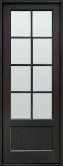 Classic Mahogany Wood Front Door - Single - DB-108PT CST