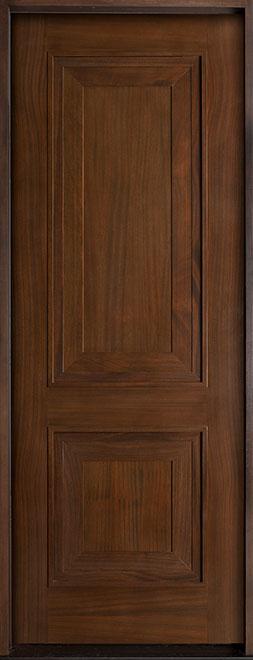 Classic Mahogany Wood Front Door - Single - DB-301A CST